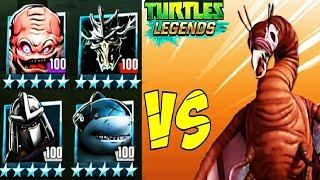 Черепашки ниндзя Легенды - ИСПЫТАНИЕ СИЛЫ ПРИРОДЫ - мобильная игра для детей TMNT Legends UPDATE X