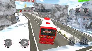 Uphill Bus Drive Christmas Bus Simulator - Android Gameplay HD screenshot 4
