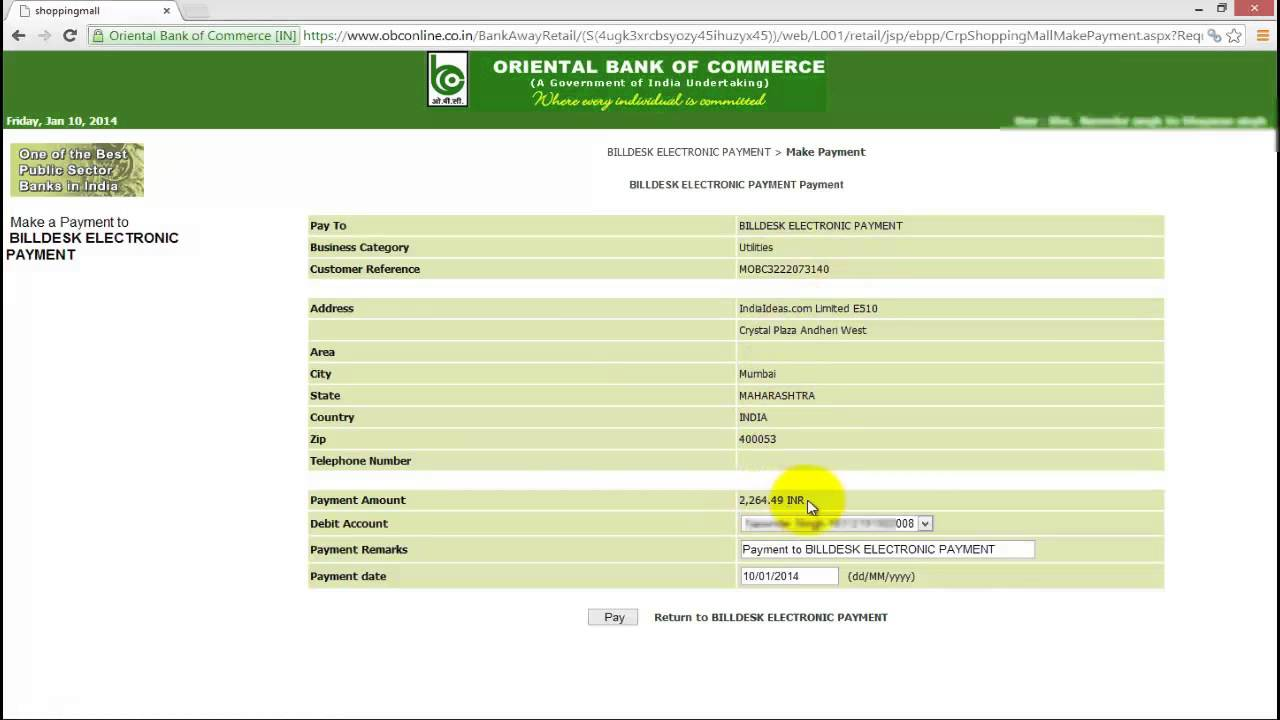 How To Pay Punjab State Electricity Bills Online Youtube