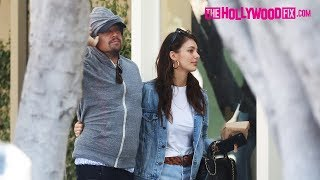 Leonardo DiCaprio & Camila Morrone Go Shopping On Melrose Place In West Hollywood 3.7.19