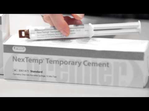 NexTemp® Resin Dental Cement Interview