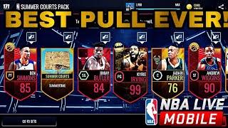 Top 10 Incredible Packs in NBA live Mobile!!