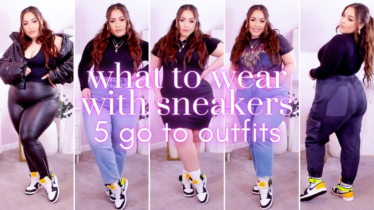 HOW TO STYLE SNEAKERS FOR WOMEN: 5 Go To Outfits