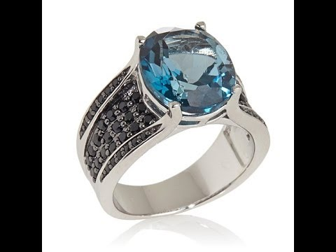 Colleen's London Blue Topaz and Black...