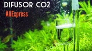 Difusor de co2 da China Aliexpress