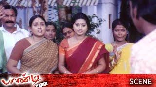 Pandi Tamil Movie   Scene   Raghava Lawrence Going To Aborad Work