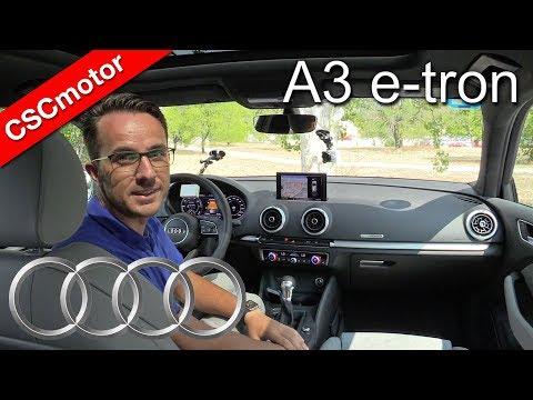 Audi A3 e-tron - 2017 | Prueba en carretera