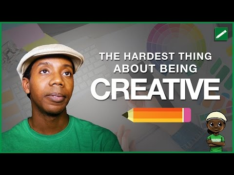 The Hardest Thing About Being a Creative Professional