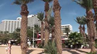 Эйлат. Приземление и взлет аэропорт Овда. Eilat. The landing and take-off from Ovda airport