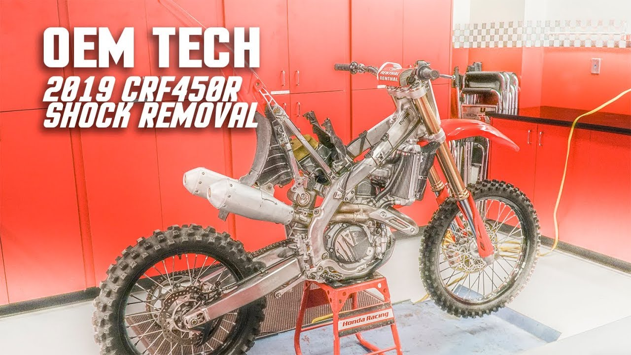 How To Remove The Shock On A 2019 Honda CRF450R