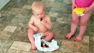 Try Not To Laugh Challenge  Most Funny Kids Pranks 2019