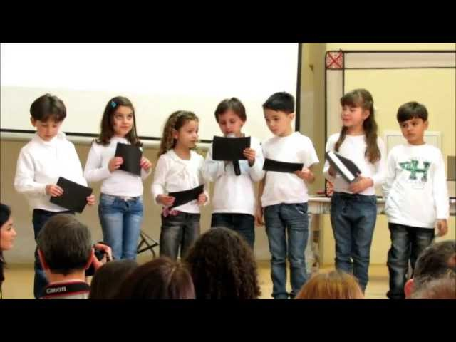 Simpósio 2013 1º ano Escola Trilhas