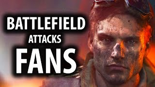 Battlefield 5 & Star Wars Creatives Are Attacking Their Fans