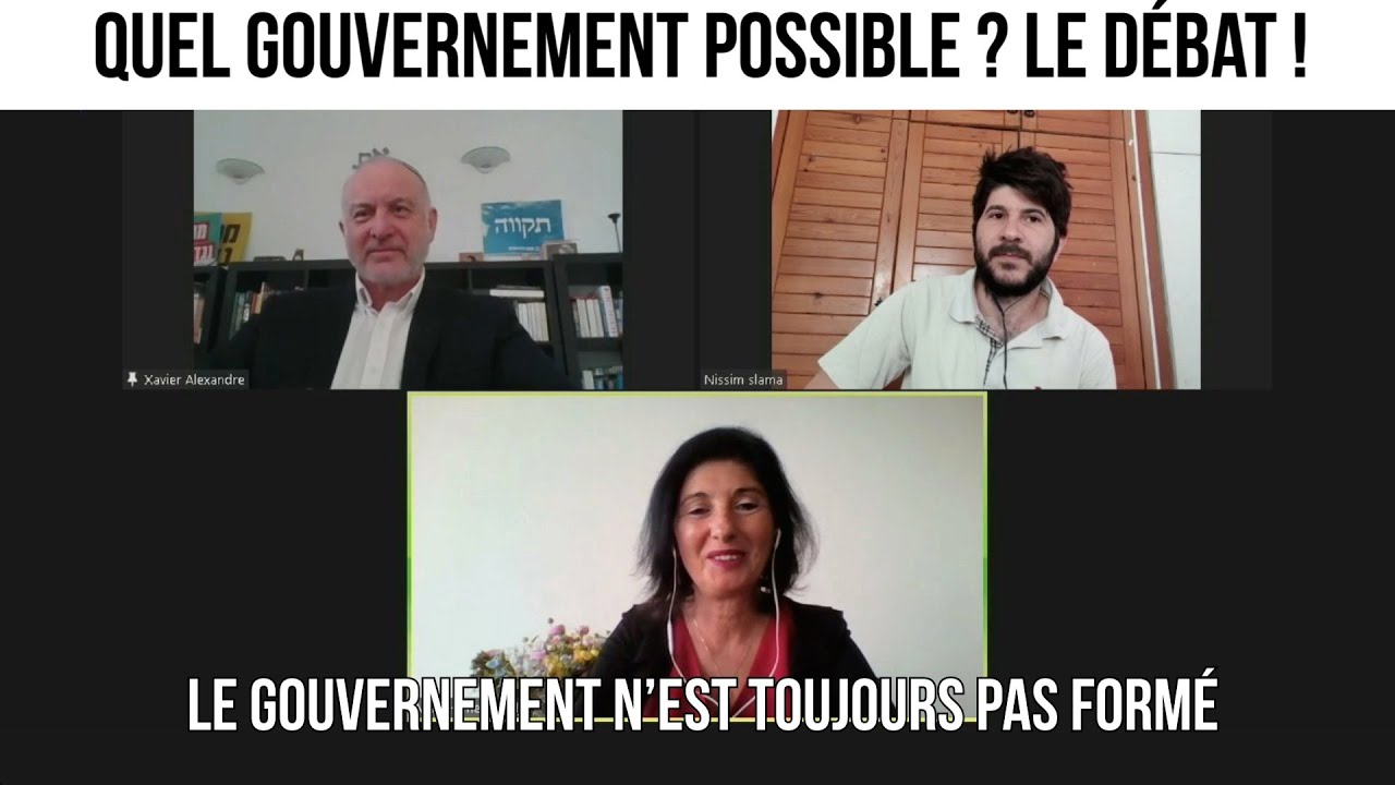 Quel gouvernement possible ? - Le débat du 9 avril 2021