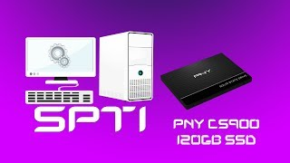 PNY CS900 120GB SSD Review y Test