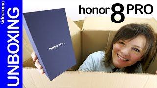 Honor 8 Pro unboxing y primeras impresiones