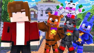 Minecraft FNAF 7 Pizzeria Simulator -  BRYAN'S MANSION! (Minecraft Roleplay)