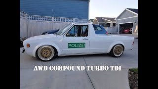 All wheel drive, compound turbo, TDI swap Volkswagen Caddy