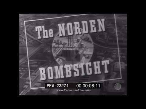 NORDEN BOMBSIGHT TRAINING FILMCONDUCT OF A MISSION23271