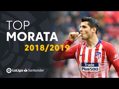 TOP Moments Álvaro Morata LaLiga Santander 2018/2019