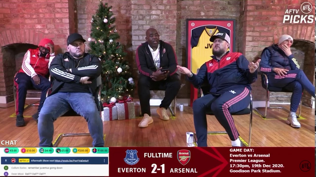 Arteta rips 'terrible unacceptable' Arsenal after loss to Everton
