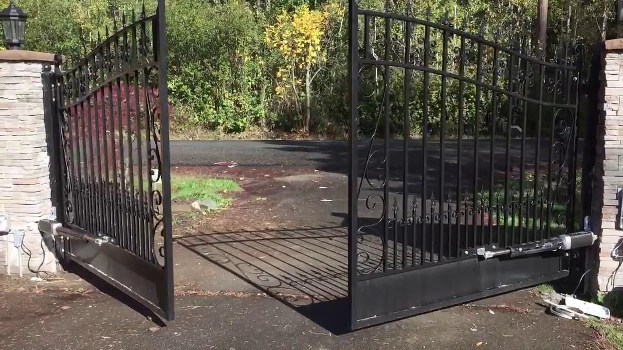 Aleko Gate Opener Installation