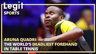 Aruna Quadri: Nigerian with world's deadliest forehand in t/tennis   Legit TV