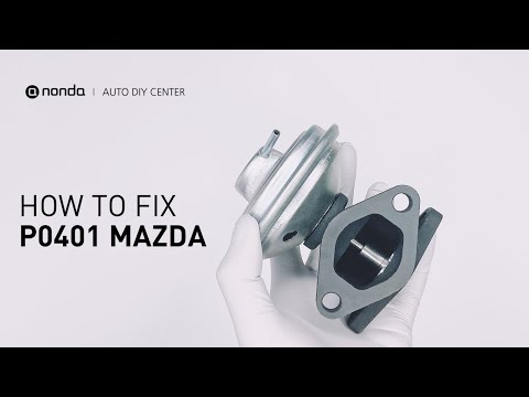 How to Fix MAZDA P0401 Engine Code in 3 Minutes [2 DIY Methods / Only $4.13]