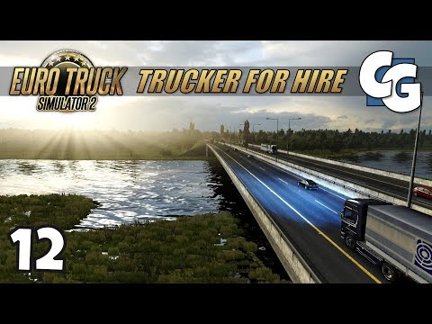 [ETS2] Trucker for Hire - Ep. 12 - Welcome to Ireland - ETS2 ProMods 2.20 Let's Play