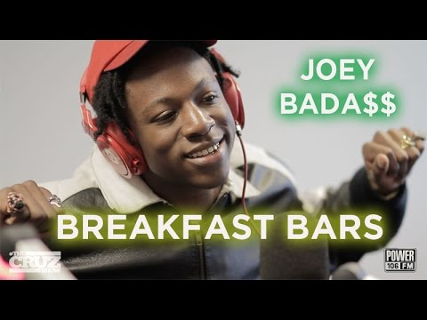 [EXCLUSIVE] Freestyle From Joey Bada$$- Breakfast Bars On #TheCruzShow