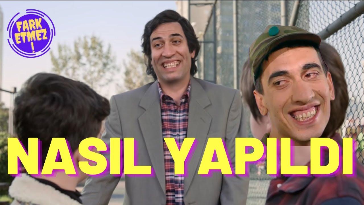 Kemal Sunal'lı Ziraat reklamında kullanılan teknoloji ve kamera arkası görüntüleri