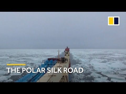 Chinese cargo ships sail along Arctic routes as Beijing plans 'Polar Silk Road'