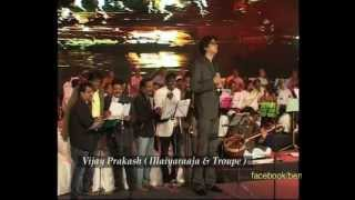 Vijay Prakash with  Ilaiyaraaja performing @ 50th Bengaluru Ganesh Utsava