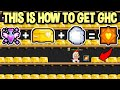 This is how i got a ghc after 400 booty boxes in growtopia