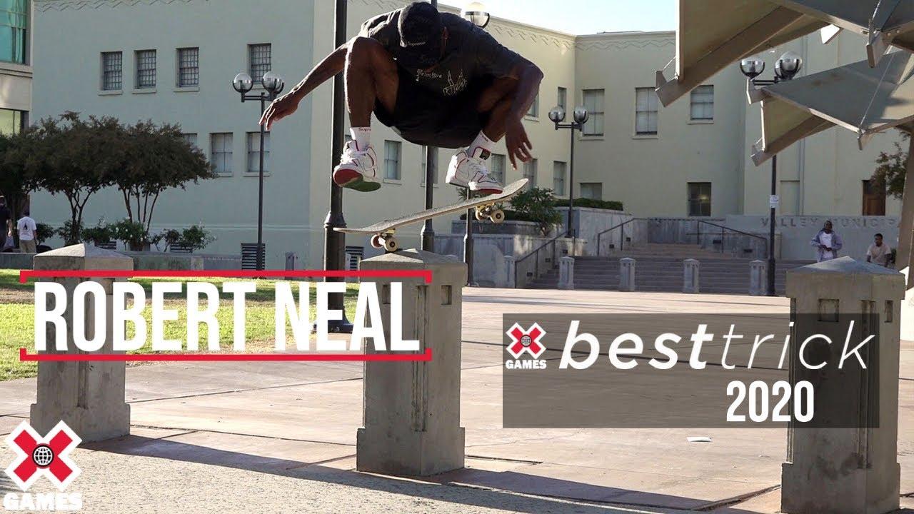 Robert Neal: REAL STREET BEST TRICK 2020 | World of X Games