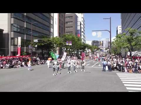 第58回 福岡市民の祭り 博多どんたく 港まつり 5月3日どんたくパレードの様子です