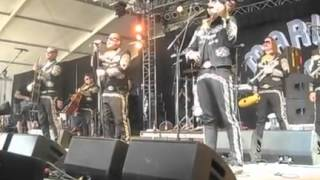 "Mariachi El Bronx plays ""48 Roses"" at Bonnaroo 2012"