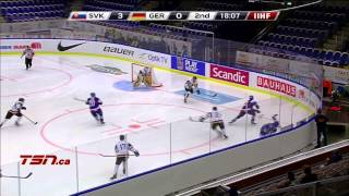Slovakia v Germany (9-2) - 2014 IIHF World Junior Championship
