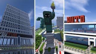 Minecraft Vi Bygger En By | 3 Vilde Kreationer | Ep 18