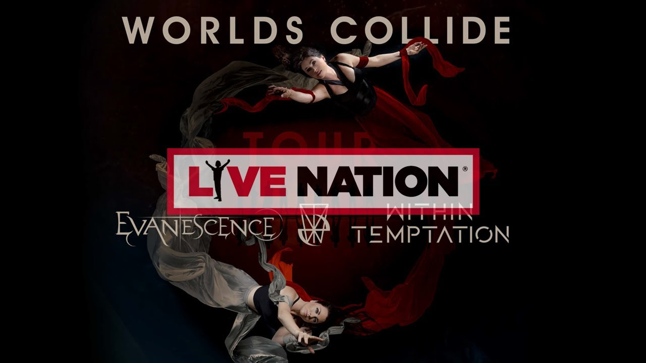 Evanescence Tour 2020.Evanescence Within Temptation Worlds Collide Tour 2020 Live Nation Gsa