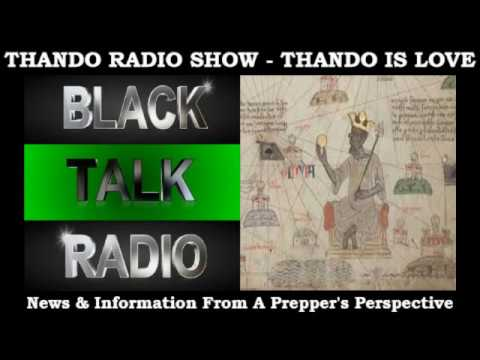 Thando Radio Show - China The True East West Connection Prt 2