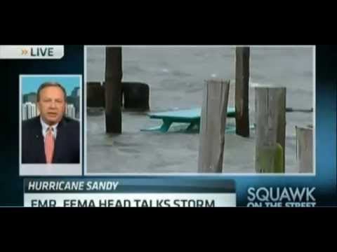 Former Undersecretary of Homeland Security Michael D. Brown on the Challenges of Hurricane Sandy