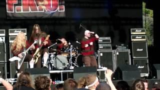 Rockstad Falun 2012 F.K.U Dead Coroner och Hate Your Guts (Love Your Brain)