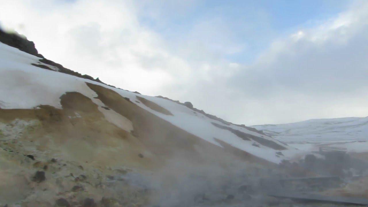 Iceland Seltun Geothermal Area Krysuvik Iceland