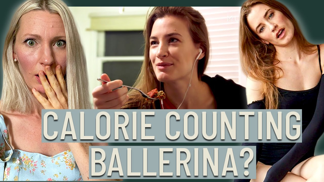 Dietitian Reviews Ballerina Theresa Ferrel (The calorie counting has gotten EXTREME)