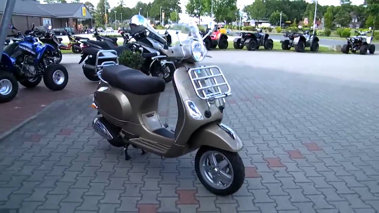 vespa lx 50 4t touring 11 roller scooter bronze perseo. Black Bedroom Furniture Sets. Home Design Ideas