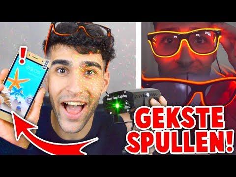 TELEFOON VOOR 25 EURO & BRIL MET LAMPEN! - Shoppen met Peys - afl. 5