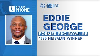 Eddie George Talks Titans Vs Ravens, Super Bowl Heartbreak & More W/ Rich Eisen | Full Interview