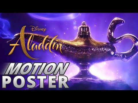 Aladdin 2019 - Animated Motion Poster - FAN MADE - YouTube