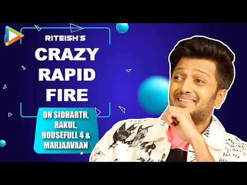 HILARIOUS: Riteish's Message to CRITICS | Manipulation in Housefull 4 Biz | Rapid Fire | Marjaavaan Mp3